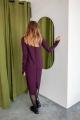 Платье KRASA 234-21 марсала