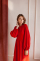 Платье KRASA 256-21 красный