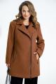 Пальто TEZA 2677 кэмел