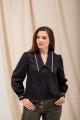Блуза Angelina 703 черный