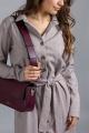 Платье Mirolia 983 темно-бежевый