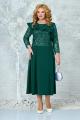 Платье Ninele 5849 изумруд