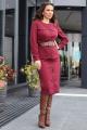 Женский костюм Мода Юрс 2703 бордо