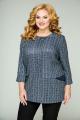 Блуза БАГРЯНИЦА 2040 штрихи