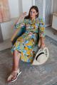 Платье ARTiMODA 321-03 тропик_желтые