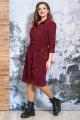 Платье Белтрикотаж 4353 бордовый