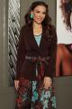 Женский костюм Мода Юрс 2707 коричневый+синие_цветы