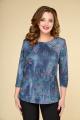 Блуза DaLi 2233 синий