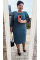Платье Vittoria Queen 14793/3 зеленый