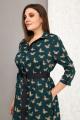 Платье Karina deLux М-9909/1 зеленый