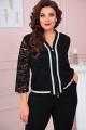 Блуза Solomeya Lux 861 черный