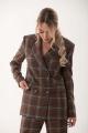Женский костюм Golden Valley 6510 коричневый