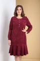 Платье Tensi 319 марсала