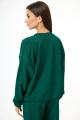 Спортивный костюм Anelli 1143 зеленый