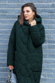 Пальто Lady Secret 5006 зеленый_перламутр