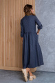 Платье Daloria 1405 темно-синий