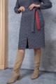 Платье Daloria 1561 бордо