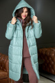 Пальто Anastasiya Mak 936 мятный