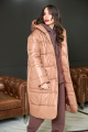 Пальто Anastasiya Mak 936 коричневый