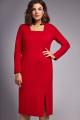 Платье IVA 1319 красный