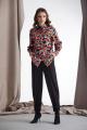 Блуза Rami 2181 цветной_принт