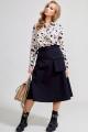 Блуза Teffi Style L-1596 бежевый