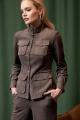 Женский костюм AYZE 2066 серо-коричневый