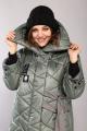 Пальто Mubliz 609 хаки