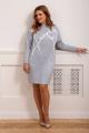 Платье Olegran 3820 жемчужно-голубой