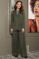 Женский костюм Мода Юрс 2712 хаки