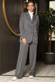 Женский костюм Мода Юрс 2712 серый