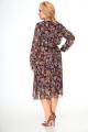 Платье Кэтисбел 1543 коричневый_фон