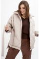 Куртка GRATTO 7112 кофейный