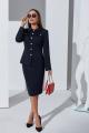 Женский костюм Lissana 4320 темно-синий