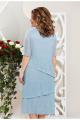 Платье Mira Fashion 4710-7 голубой