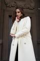 Пальто JKY GA-012 белый
