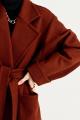 Пальто MUA 34-593-coffee