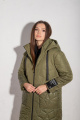 Пальто Angelina 721 хаки