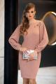 Платье Diva 1357-1 розовый