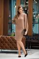 Платье Diva 1357-2 коричневый