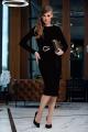 Платье Diva 1358-2 черный