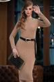 Платье Diva 1358-3 коричневый