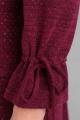 Платье Basagor 445 винный