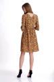Платье Мишель стиль 766 коричневый