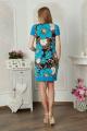 Платье Lucky mum 1096 голубой