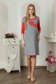 Платье Lucky mum 1102 красный
