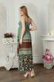 Платье Lucky mum 1125 бирюза