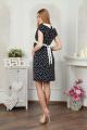 Платье Lucky mum 1108 синий