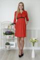 Платье Lucky mum 1158 красный
