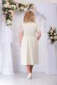Платье Ninele 7235 беж